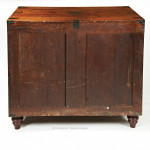 Low Campaign Cupboard with Drawers