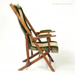 Folding Adjustable Chair with Shaped Back