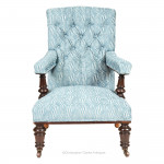 Square Back Campaign Armchair