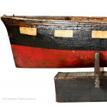 Painted Model of a Ship's Hull