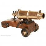 Gun Metal Carronade Model