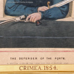 The Defender Of The Porte, Crimea Lithograph With 3 Dimensional Face