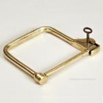 Finnigan's Brass Kit Bag Lock