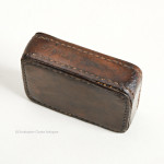 Leather Map Weight by Stanley of London