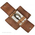 Cased Set Of Sheffield Travel Cutlery