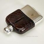 Medium Sized Hip Flask by Barraclough & Sons, Leeds