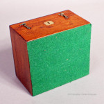 Small Mahogany Campaign Box