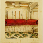 Water Colour - Cabin on HMS Winchester
