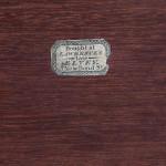 Lawrences (late Elvey) Brass Bound Mahogany Box