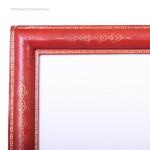Large Leather Cushion Photo Frame