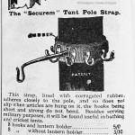 Securem Tent Pole Strap with Hook