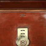Leather Briefcase By Equestrian