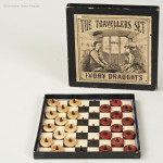 The Traveller's Set Of Draughts