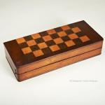 Campaign Tripod Chess Table