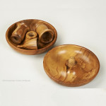 Olive Wood Brighton Buns with Snuffer