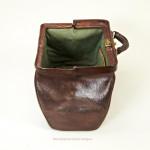 Leather Gladstone Or Kit Bag