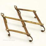 Small Set of Brass Walkers' Patent Hooks