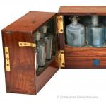Mahogany Apothecary Box