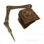 Pair Of Folding Pricket Candlestick