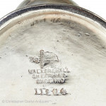 Military Condiment Set by Walker & Hall