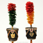 Collection of 24 Miniature Napoleonic Military Hats