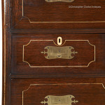 Chinese Export Secretaire Campaign Chest