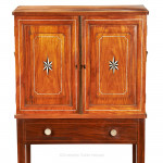 Chinese Export Cabinet on Stand