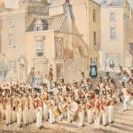 Grand Shaft Barracks by William Heath