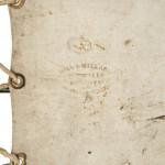 J.R. Gladstone's Iron Campaign Bed by Hill & Millard