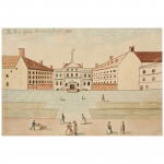 The Navy Office, Crutched Friars, 1750.