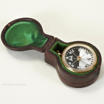 Cased Compass & Barometer by Lennie, Edinburgh