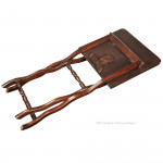 Mahogany Coaching Table with good shaped leg