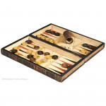 History of America Backgammon Book Box