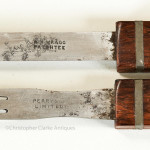 Set of Rosewood Wragg Patent Cutlery