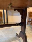 A Regency period mahogany 'metamorphic' writing table