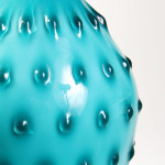 A teal cased vase by Empoli