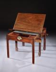 A George II mahogany architect's table