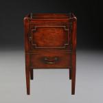 A George III bedside table