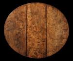 A 17th century pollard elm gateleg table