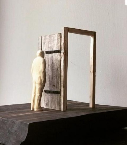 La porte fermée