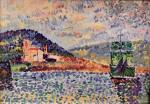 French Harbor Scene