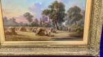 Victorian Summer Harvent scene