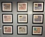 American Flag collage scene