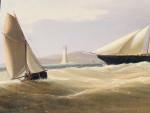 Portrait of the Danish Paddle Steamer Slesvig