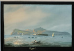 Views Of Southern Italy with Mt Vesuvius, the Bay of Naples , Capri and other views