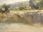 A Victorian Riverside Landscape