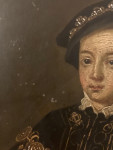Portrait of Edward VI of England, son of Henry the VIII