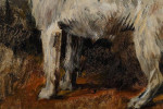 Jack Russell portrait in oils