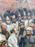 Battle between the French and the Austrians