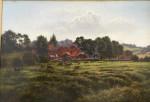 English farm scene